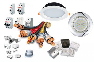 Электротовары и светодиодные светильники