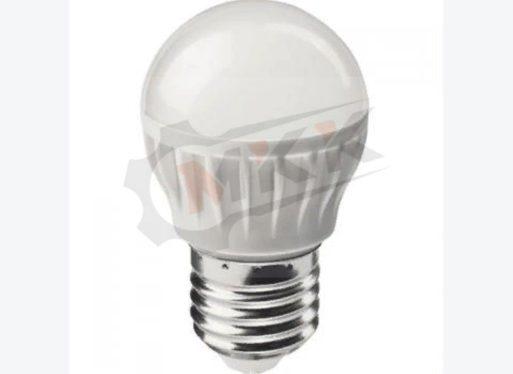 Лампа светодиодная LED 8вт E27 белый матовый шар