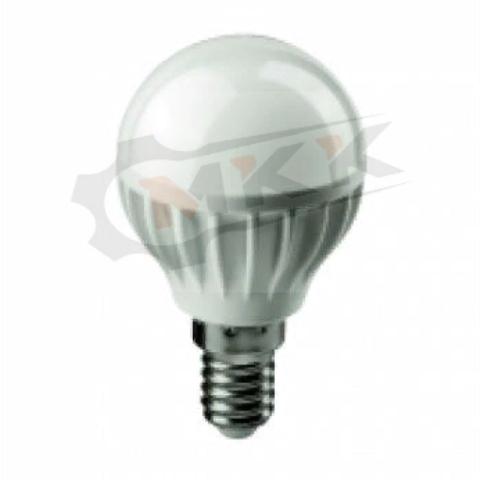 Лампа светодиодная LED 8вт E14 белый матовый шар