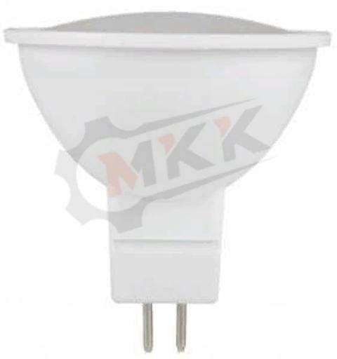 Лампа светодиодная LED 5вт 230в GU5.3 белый ECO