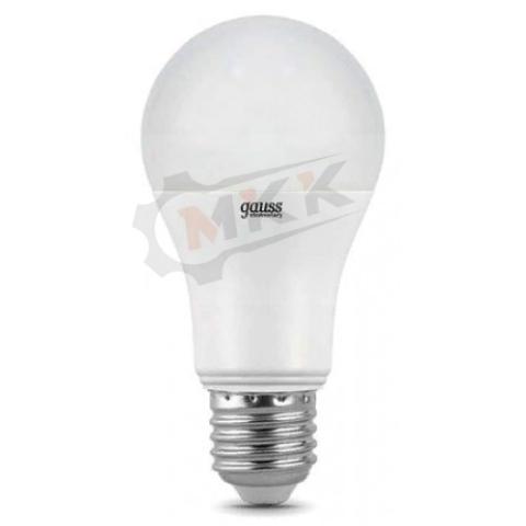 Лампа светодиодная LED 15вт 230в Е27 белый Elementary