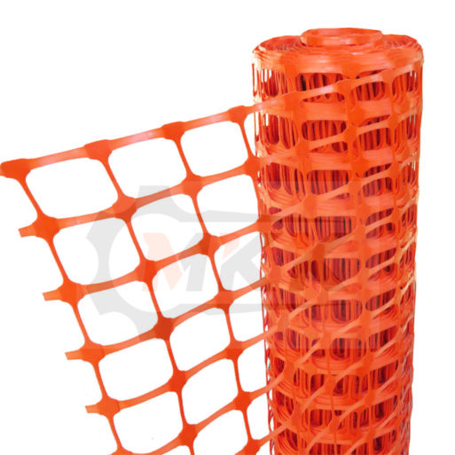 Аварийное ограждение А-95, ячейка 95*45, 1м*50м, оранжевое