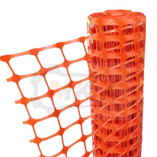 Аварийное ограждение А-45, ячейка 40*45, 1,3м*25м, оранжевое