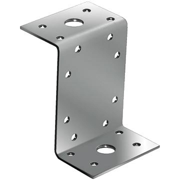Крепежный уголок Z-образный